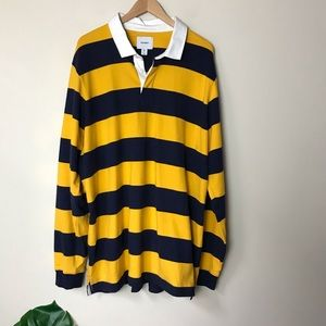 Old Navy | Men's Bold Stripe Rugby Polo 3XL Tall